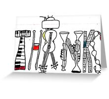 ~ give a musical thanks ~ Greeting Card