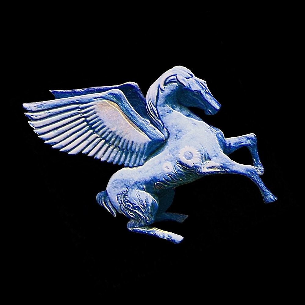 Blue Pegasus by SpecialTees