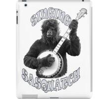 SINGING SASQUATCH iPad Case/Skin