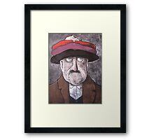 Berets with Whipped Cream Framed Print