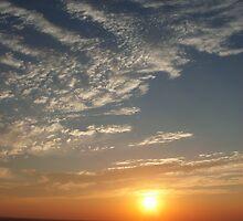 Oklahoma Sunrise by Wilomoon