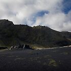 The Black Sands at Álftafjör∂ur, Iceland by hinomaru