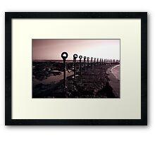 Newcastle Ocean Baths 3 Framed Print