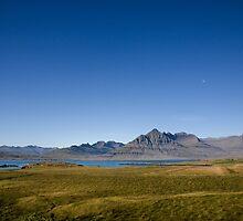 Spectacular Mountain Landscape, Berufjör∂ur, East Coast, Iceland by hinomaru
