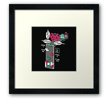 The Tetris Graveyard Framed Print
