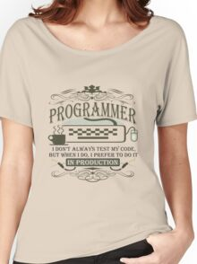 Production Programmer Women's Relaxed Fit T-Shirt