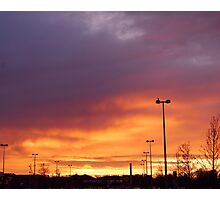 Blanchardstown Sunset- Ireland Photographic Print