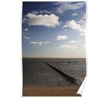Beach, East Mersea (V) Poster