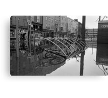 WaterBike Rider Canvas Print