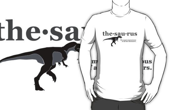 Thesaurus - The most synonymous of all the dinosaurs by digerati