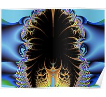 Feather Trap Fractal Poster