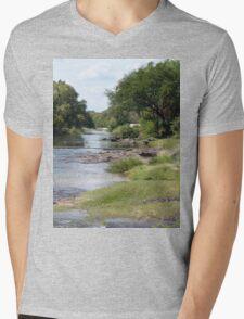 a vast Zambia landscape Mens V-Neck T-Shirt