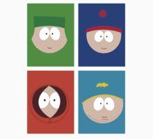 Faces South Park by Jaoson