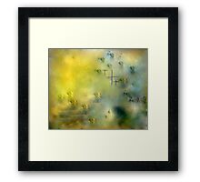 HOPES OF PEACE .dedicated to men  and women at war!! Framed Print