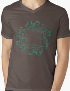 Puzzle of My Heart Mens V-Neck T-Shirt