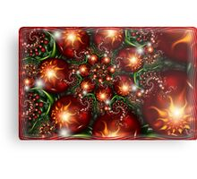 Under the holly Metal Print