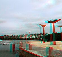 """The Jetty"" - An Anaglyph Journey by StarKatz"