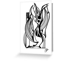 Abstract Moments Greeting Card