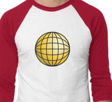 Planet Power Men's Baseball ¾ T-Shirt