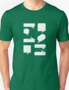 speech bubles  Unisex T-Shirt