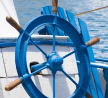 sailor wheel Sticker