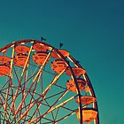 Ferris Wheel - Ohio State Fair by Hampton Taylor