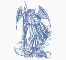 Angel Fights the Demon by Zehda