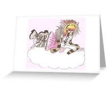 pocky-princess Greeting Card