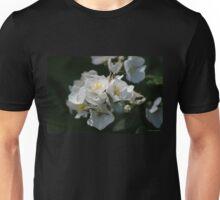 White Blossoms in the Light Unisex T-Shirt