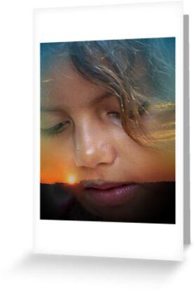 Skyler at Sunset by nastruck