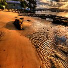 Ripples - Paradise Beach , Sydney - The HDR Experience by Philip Johnson