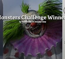 Monsters Challenge Winners by Redbubble Community  Team