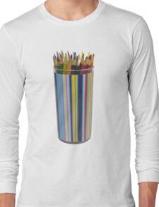 bottle colors Long Sleeve T-Shirt
