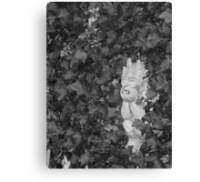 Dad's Garden Gargoyle Canvas Print