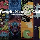 Vote for Your Favorite Monsters Challenge Finalists by Redbubble Community  Team