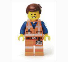 Orange Jumpsuit Minifig Kids Tee