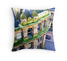classic architecture viewed from above Throw Pillow