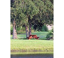 A Place to Relax... Photographic Print
