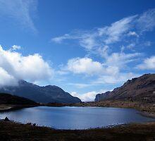 Tawang Lake. by Arun Dasgupta