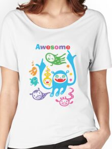 Stay Awesome - light  Women's Relaxed Fit T-Shirt