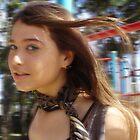 Carmelle with Motion Blur by Seone Harris-Nair