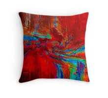 Color Explosion 2 Throw Pillow