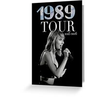 Taylor Swift Tour 2015 Greeting Card
