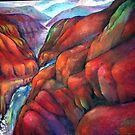 Red Mountains by weepeeple