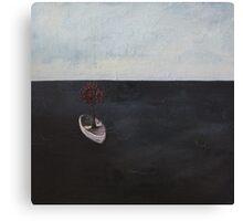 I'm at sea Canvas Print