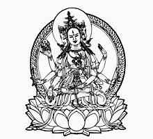 3 Headed Buddha on Lotus T-shirt Unisex T-Shirt