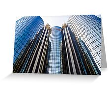Downtown Los Angeles Hotel  Greeting Card