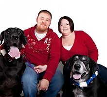 Taurus and Sage's Family Photo by Misti Love