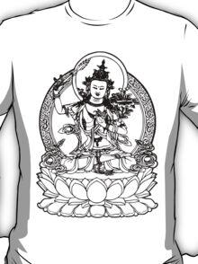 Buddha with Sword on Lotus t-shirt T-Shirt