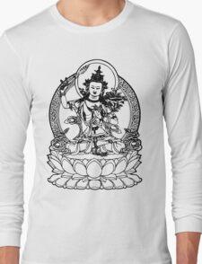 Buddha with Sword on Lotus t-shirt Long Sleeve T-Shirt